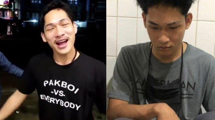 Youtuber Ferdian Paleka dan kawan-kawan dijerat UU ITE dalam kasus prank sembako berisi sampah melalui akun youtube-nya.